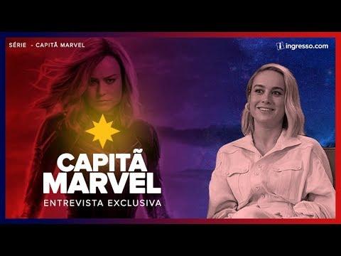 Capitã Marvel | Renata Boldrini entrevista Brie Larson | EXCLUSIVA