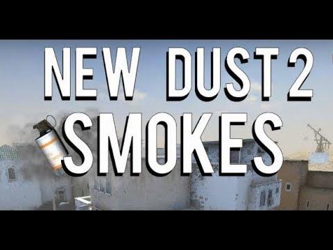 TUTORIAL 10 SMOKE-URI PE DUST2 [CS:GO]