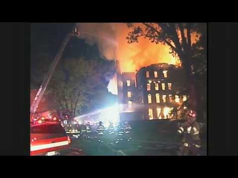 STATter911.com: Raw video from 3-alarm fire at Chestnut Lodge in Rockville, MD