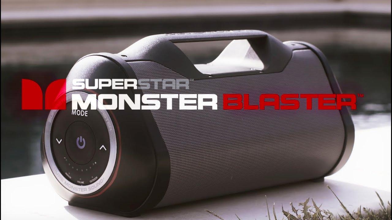 monster superstar blaster