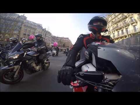 [Nico CBR Paris 650F] 7eme Manif Toutes à Moto Paris  2016