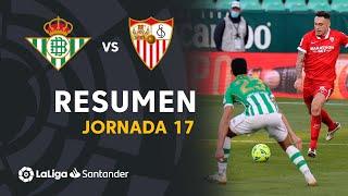Resumen de Real Betis vs Sevilla FC (1-1)