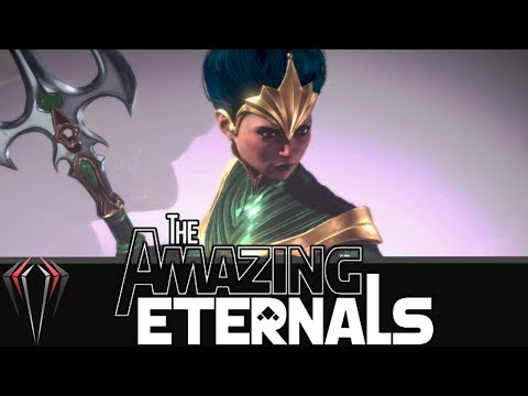 THE AMAZING ETERNALS: MOUSE AND KEYBOARD TIME!?