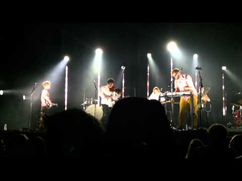 Bon Iver - Hinnom, T.X. / Wash. (Live at the Shrine, Los Angeles, 9.19.11, front row, center)