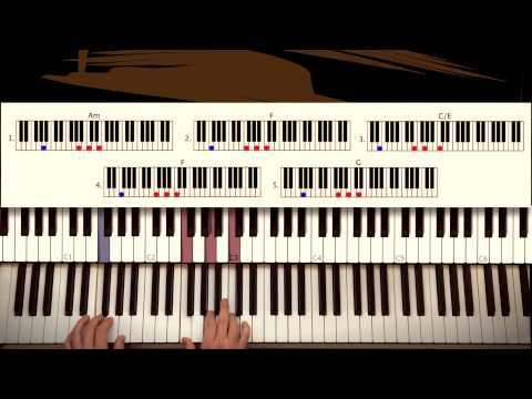 How to play: Glory - John Legend & Common (Selma soundtrack). Original Piano Couture tutorial.