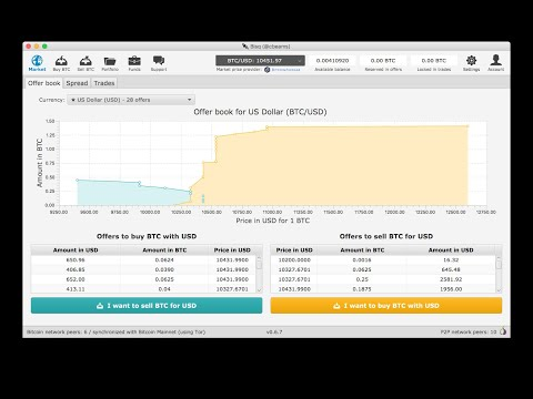Live Demo: How To Buy BTC For USD Using Bisq And Cash App
