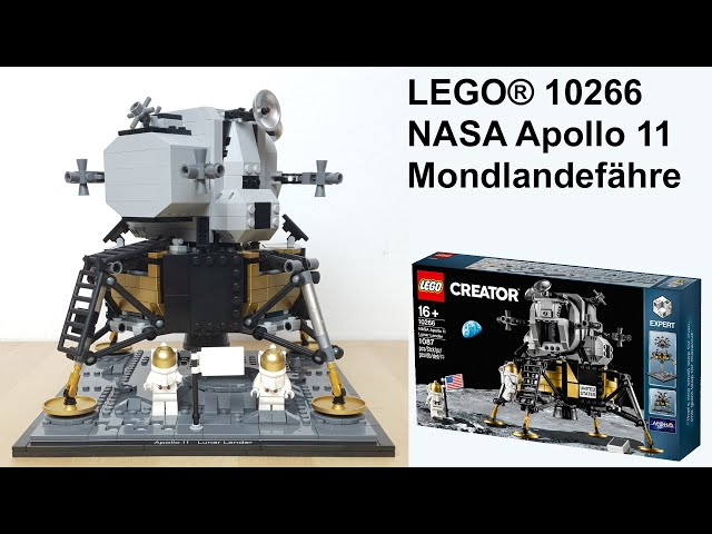 LEGO® 10266 NASA Apollo 11 Mondlandefähre (Lunar Lander Eagle) Unboxing & Review