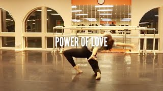 POWER OF LOVE | ADV LYRICAL | LEILA CROCKER CHOREO | INMOTION PERFORMING ARTS STUDIO | FT NATALIE