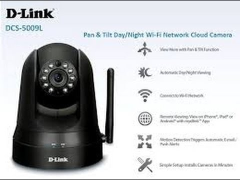 D-Link DCS-5009L IP Camera Drivers for PC