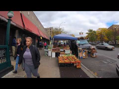 ⁴ᴷ⁶⁰ Walking NYC (Narrated) : Broadway From Washington Heights To Dyckman Street, Inwood
