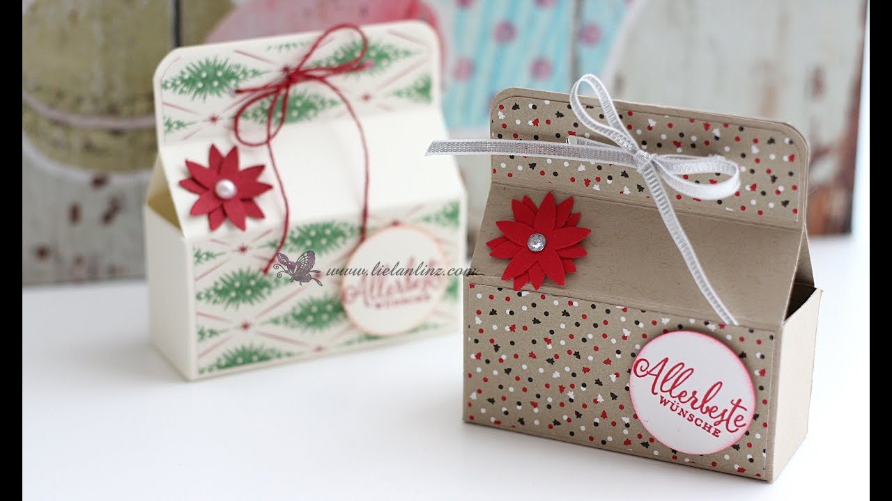 anleitung schnelle mini box stampin up youtube