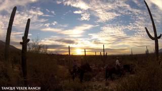 Tanque Verde Ranch Horseback Sunset Ride, Tucson