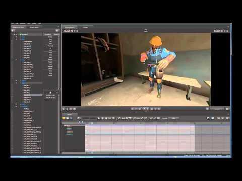 Как делать анимацию в Source Filmmaker№1 Обычная анимация