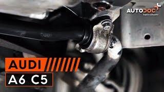 Hvordan bytte Foring stabilisatorstag AUDI A6 Avant (4B5, C5) - online gratis video