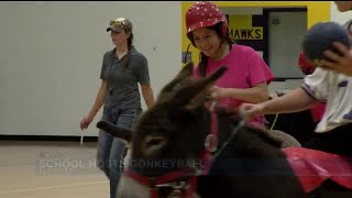 Donkeyball fundraiser at Ellicott High School