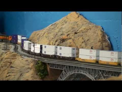 Modelling Railway Toy Train Layouts-Super Tips For Mustering The Best From Your N Scale layout with lot of action