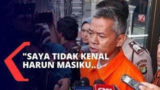 Wahyu Setiawan Mengaku Tak Kenal Harun Masiku dan Sebut Nama Ketua KPU, Arief Budiman