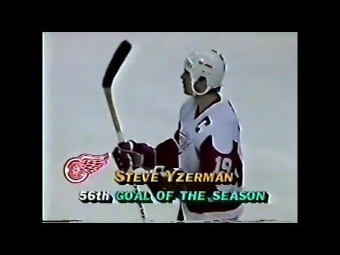 Steve Yzerman 1988-89 Season Highlights