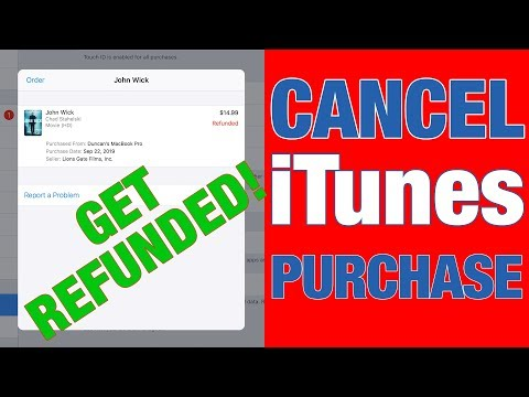 Cancel Your Itunes Order In 1mn ! (get Refunded)