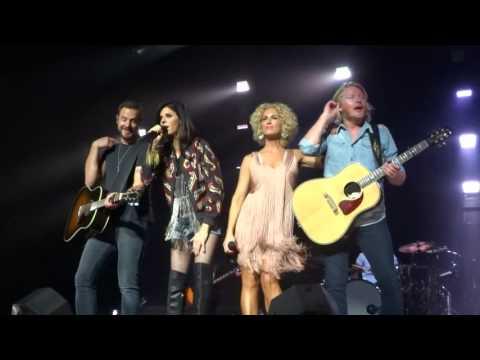 "Little Big Town sings ""Little White Church"" live in Greenville, SC"