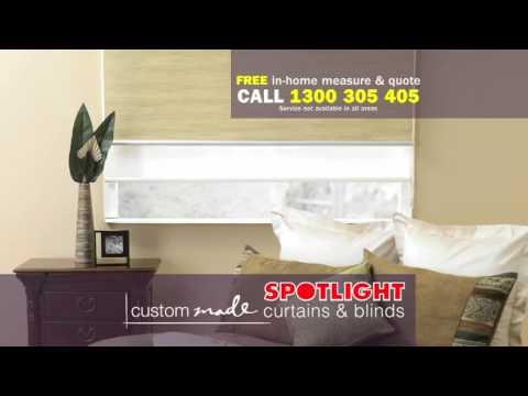Spotlight Custom Made Curtains & Blinds