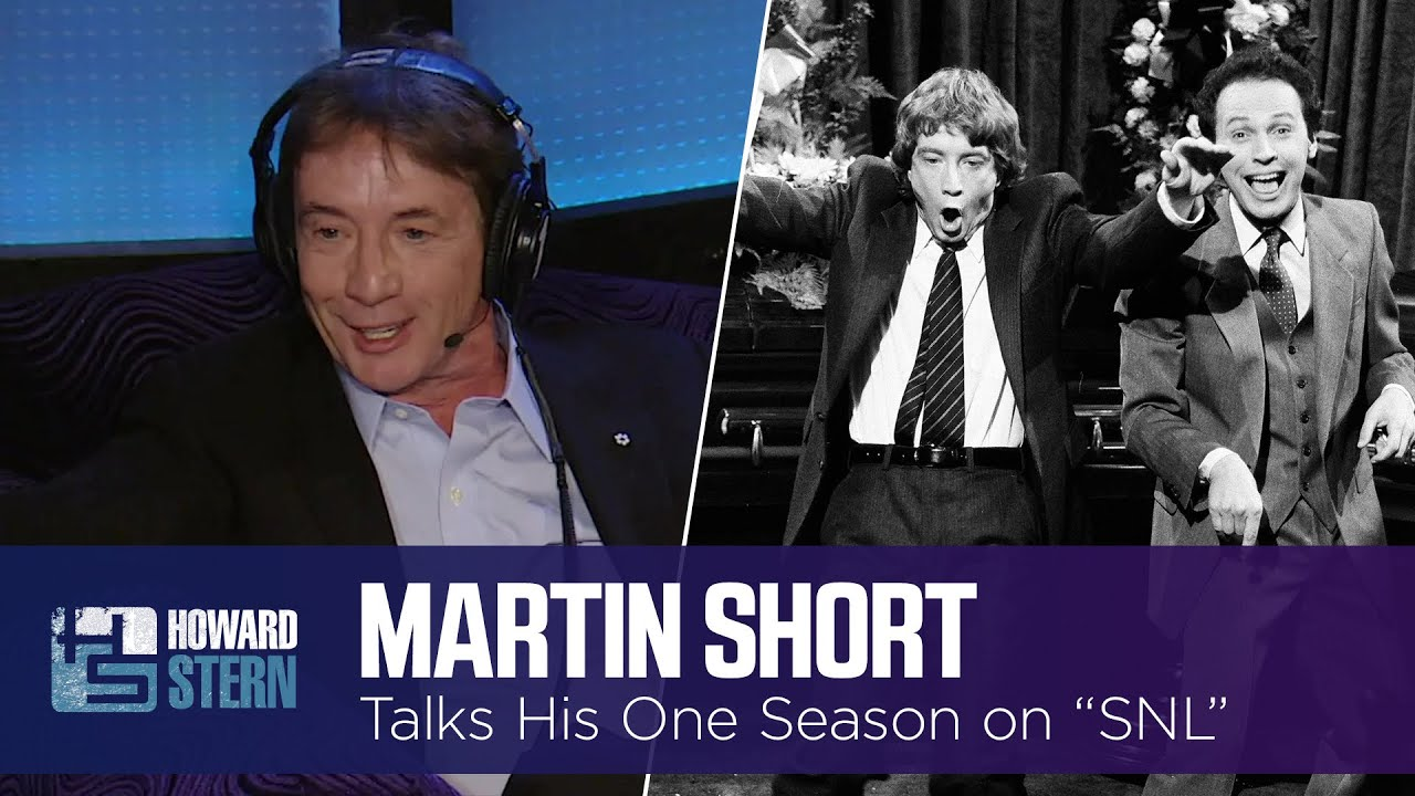"""Martin Short Looks Back at His One Season at """"Saturday Night Live"""" (2016)"""