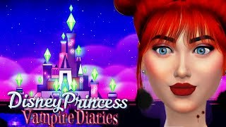 Princess Ariel GETS BIT! - Ep1| Sims4  Disney Princess Vampire Diaries Ep 1
