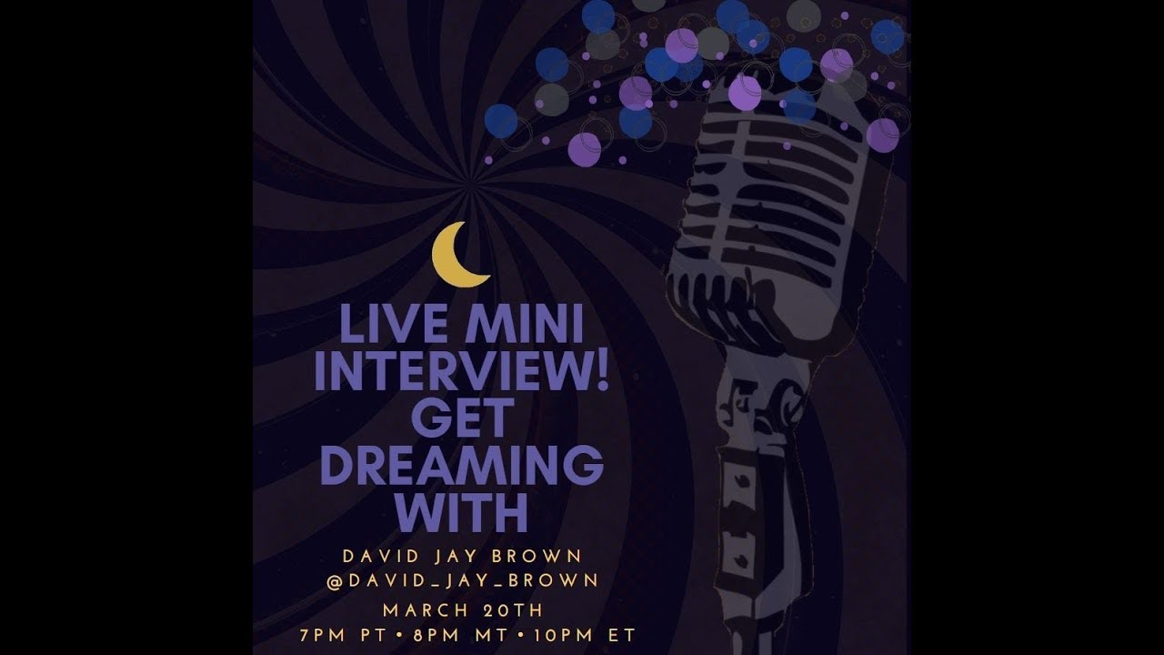 Get Dreaming With Ep.4 David Jay Brown