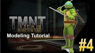 3Ds Max Cartoon Character Modeling Tutorial - Part 4