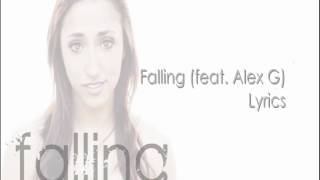 Falling (feat. Alex G) - Tyler Ward (Lyrics on Screen)