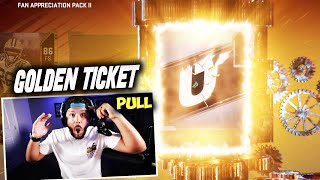 I DID IT AGAIN!! GOLDEN TICKET - Madden 20