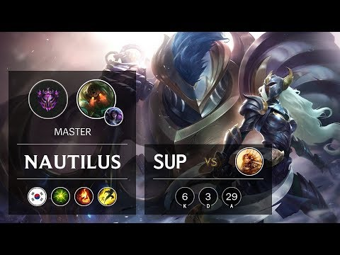 Nautilus Support vs Leona - KR Master Patch 9.20