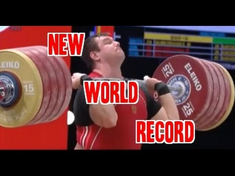 Strongest Weightlifter in the world!! (264 kg World Record 2015)