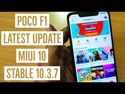 Miui 10 Stable 10.3.7 Update On Xiaomi Poco F1 - Whats New?