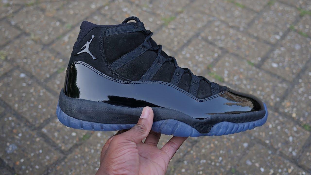 f4d0c27c4c6d Air Jordan 11 Cap + Gown Quick Look   On Feet - YouTube