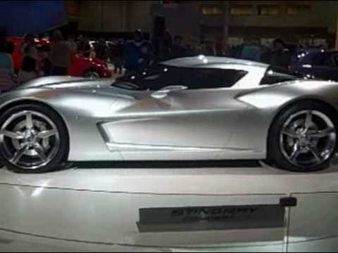 Chevrolet Corvette Stingray >> SIDESWIPE. CORVETTE STINGRAY CONCEPT CAR unveiled - YouTube