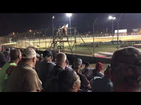 Limited late-model feature @ Portsmouth raceway park July 4th 2019