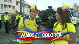 Hoy juega Ecuador contra Chile