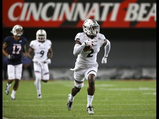 2016 American Football Highlights - Cincinnati 28, UT Martin 7