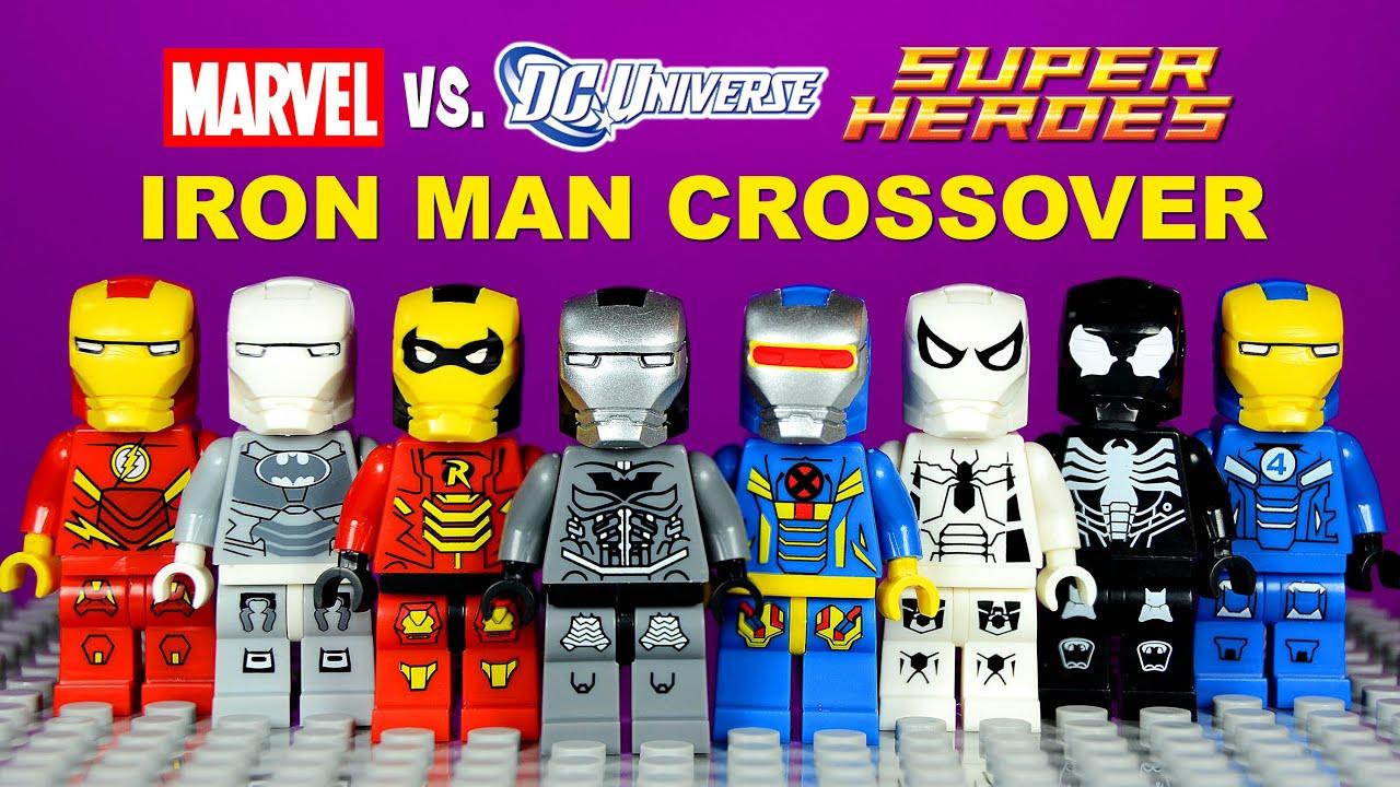 Lego Iron Man Dc Vs Marvel Crossover Armory Knockoff