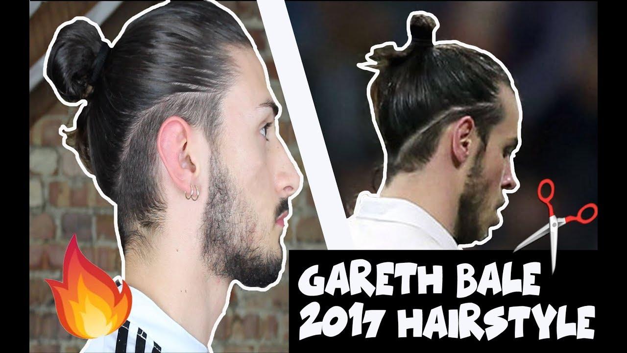 Gareth Tutorial Inspired HairStyle / ManBun Bale Modern