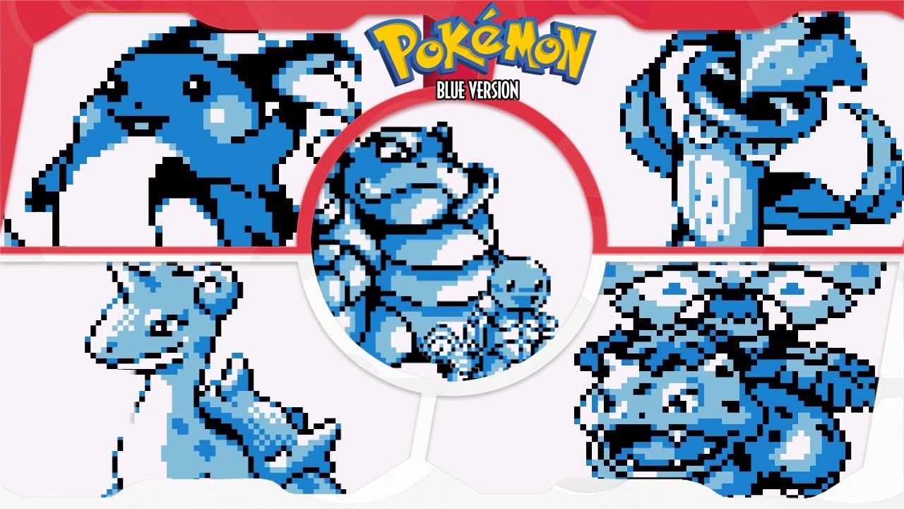 Pokémon Blue for GB ⁴ᴷ Full Playthrough (Solo Squirtle/Blastoise) V2