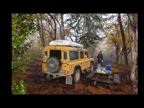 Chile's Best Kept Secret???? Volcano Llaima. Land Rover Defender 300tdi.