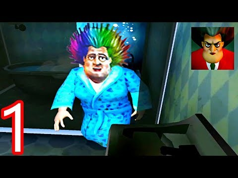 Scary Teacher 3D   NEW UPDATE   Bad Hair Day Gameplay Walkthrough Part 1 ( iOS Android )
