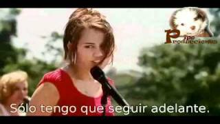 Hannah Montana Miley  - The Climb Sub Spanish