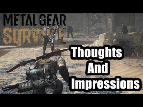 Metal Gear Survive Beta Thoughts And Impressions
