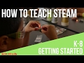 STEAM Professional Development for Educators: Getting Started
