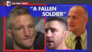 tj-dillashaw-s-team-defend-actions-a-fallen-soldier-of-demand-for-perfection