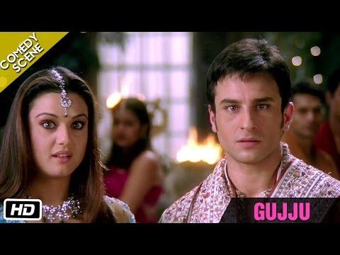 """GUJJU"" - Comedy Scene - Kal Ho Naa Ho - Shahrukh Khan, Saif Ali Khan & Preity Zinta"