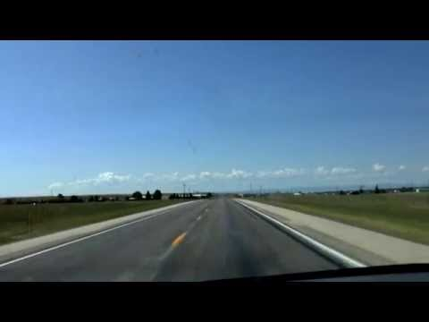 Bosler, WY to Laramie, WY (Real Time) - July 4th 2013